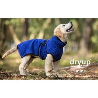 Fit4dogs dryup cape -mini- blueberry 40cm